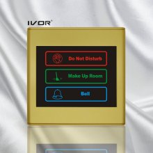Hotel Doorbell System Outdoor Panel in Plastic Outline Frame (SK-dB2300S3A)