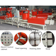 High compressed wood pallet machine