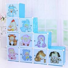 Plastic DIY Multifunctionable Cartoon Cabinets (ZH0015)
