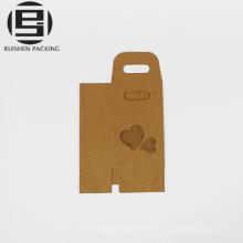 Bolsas de embalaje de papel Kraft caja de regalo al por mayor