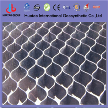 Plastic geocell used in construction
