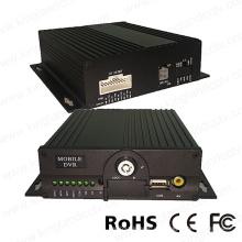 4CH 720p HD bewegliches DVR eingebautes 4G GPS WiFi