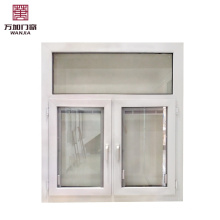Janelas de batente do PVC da alta qualidade, janela das portas de UPVC