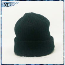 2015 novo design personalizado tricô chapéu de boa qualidade fabricados na china