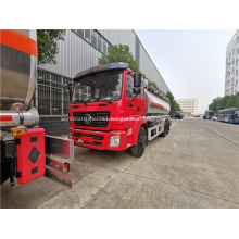 Dongfeng aluminum alloy stainless steel oil tank truck