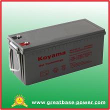 160ah 12V SMF Gel Storage Battery for Wind Power System