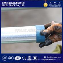 zinc coated galvanized steel pipe, hot dipped gi pipe / gi tube price