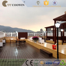 Outdoor Hollow CE FSC Wood Plank WPC Outdoor Decking