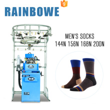 2017 RB-6FP plain socks making machine equipment for the production of socks