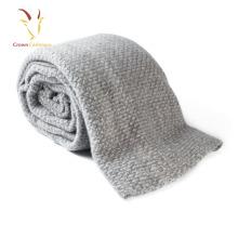 High Quality Kids Cashmere Wool Blended Infant Travel Blanket