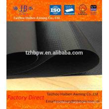 Impermeável poliéster 100% resistente vinil preto tarps