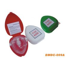 Máscara CPR portátil com caixa de PVC (DMDC-009A)