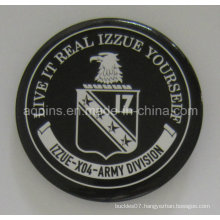 Factory Price Army Tin Button Badge with Print Logo (button badge-44)