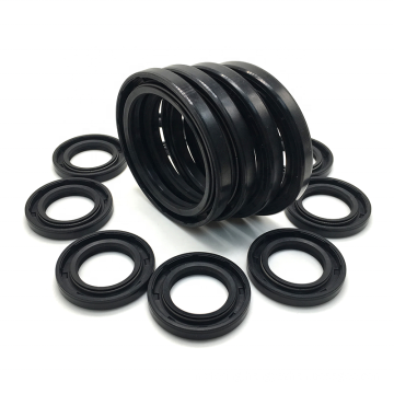 Standard NBR FKM Silicone Engine Radial Shaft Oil Seal Rubber Dust Lip Mechanical Rotary Shaft Seal