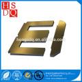 acier au silicium à grains orientés à froid avec noyau de stratification EI