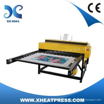 220V/380V dupla camada pneumático tecido impressão máquinas de transferência (FJXHBD2)