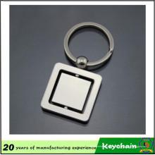 Porte-clés Spinning carré design personnalisé