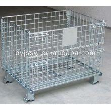 Boîte de maille / cage de fil / casier en métal / récipient de stockage
