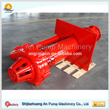 Coal mine vertical sump slurry pump