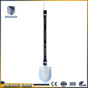 mini warning outdoor camping light shovel