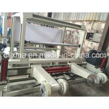 Machine à découper des gros rouleaux de papier avec un diamètre de rembobinage de 1500 mm