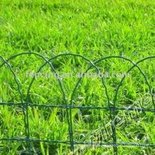 clôture de maille de fil de jardin enduite de PVC