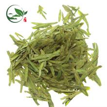 Fait à la main organique pouf Dragonwell vert thé en gros