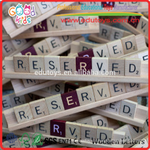 OEM / ODM Disponible China Factory Made Letters Matching Toy Kids Wood Toys Game