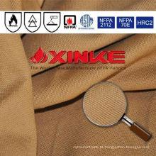 tecido retardador de chama de lona para vestuário usado na indústria explosiva