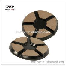 Coussin de polissage diamant en béton ciment de haute performance