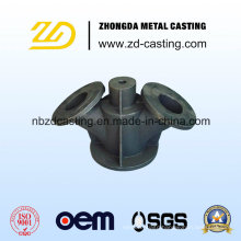 Iron Double Gated Valve by Sand Casting