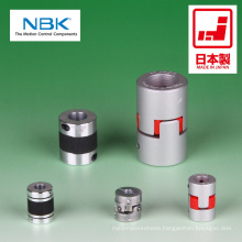 Flexible shaft coupling of high-quality. Manufactured by Nabeya Bi-tech Kaisha (NBK). Made in Japan (flender coupling)