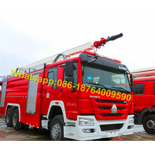 6X4 Air Foam Fire Fighting Tank Truck 12000L