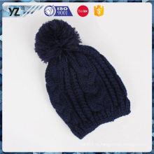 Sombrero de calidad superior del knit de la manera de la nueva llegada del fabricante