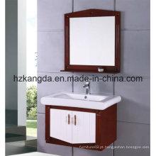 Gabinete de banheiro de madeira maciça / vaidade de banheiro de madeira maciça (KD-424)