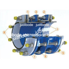 Дуктильный Утюг разбирая совместной прокладкой из EPDM glavanized стальная галстук стержни