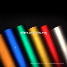 Película reflectora coloreada prismática del grado del ingeniero del certificado En12899 para la señal de tráfico