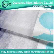 Super Soft Textile Baby Diaper Backsheet Laminated Nonwoven