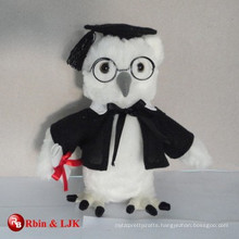 graduation owl plush