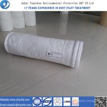 Saco de filtro da coleção de poeira da fonte PTFE da fábrica para a indústria de Chemicial
