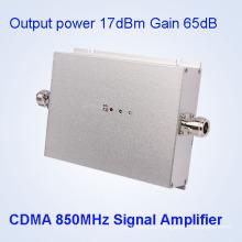 17dBm Домашнее использование CDMA 850MHz сотовый телефон сигнала Booster