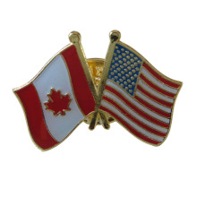 Factory Price for Flag Lapel Pin,Metal Badge Pins,Single Flag Pins,Cross Flag Pins,Country Flag Pins Manufacturer in China Canada&USA Patriotic Standard Lapel Pins Series supply to Portugal Exporter