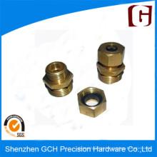 Usinagem de latão de alta precisão CNC Screw Rod Part