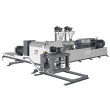 Máquina para fabricar materias primas para cables HFFR de bajo humo