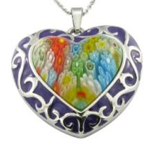 Moda pingente coração pingente moda jóias