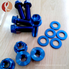 Titanium Fastener: bolt, screw , nut, washer and thread rod From M 1 to M24 for Gr2 and Gr5