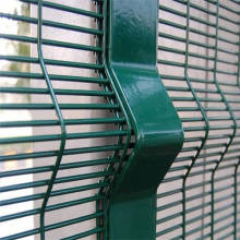 High Security galvanized 358 welded mesh panel fencing