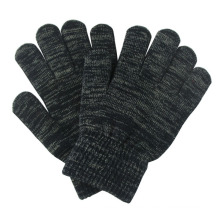 Mode Silber Faser gestrickte Winter Touch Screen Magic Handschuhe (YKY5465)