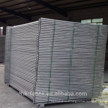 Hot Australia fencing weld mesh construction site hoarding /self supporting interlock fence /events public safety mobile fence