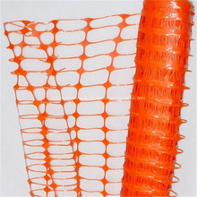 Filet d'alarme de barrière orange de haute visibilité de 70g